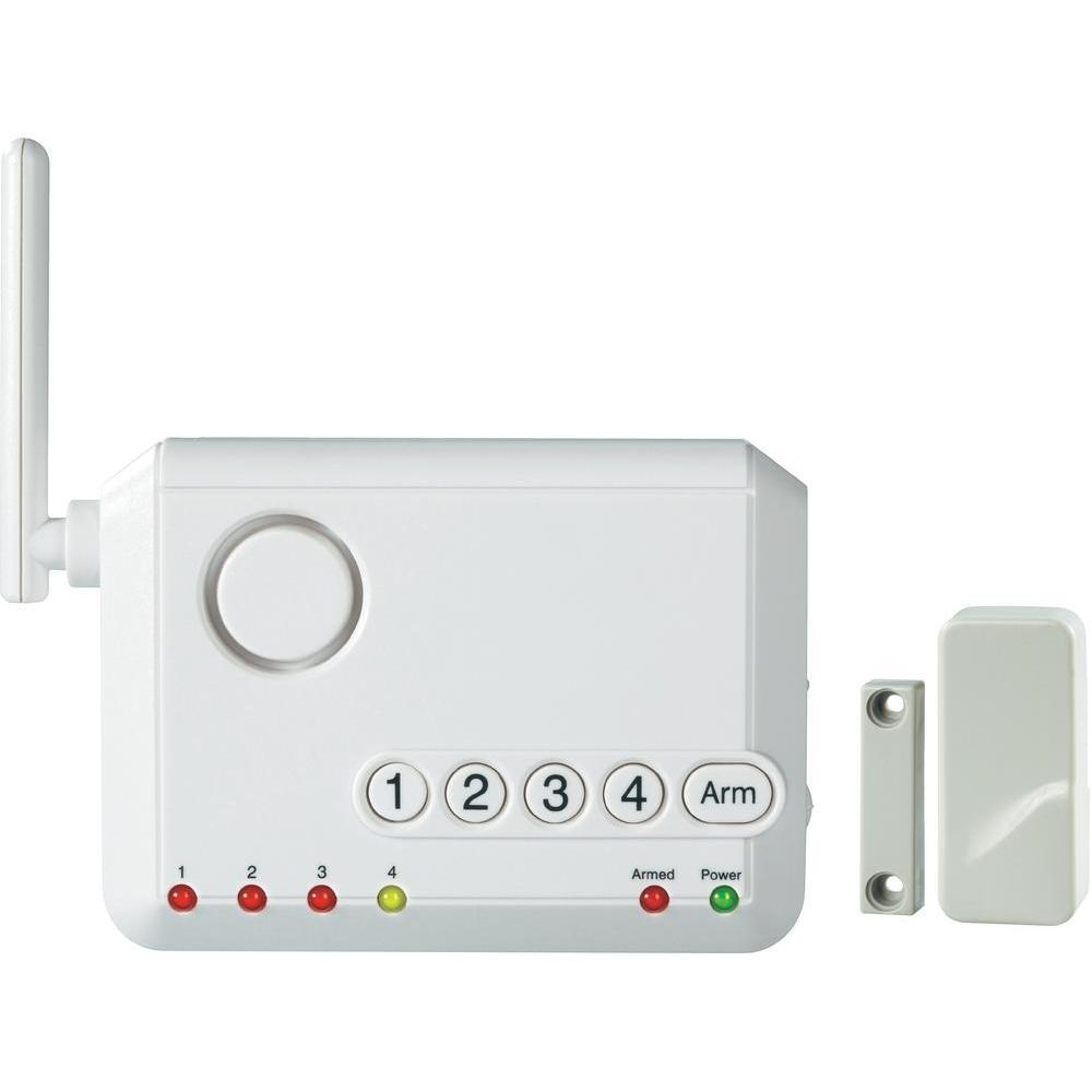 Quels sont les éléments qui composent une alarme sans fil?